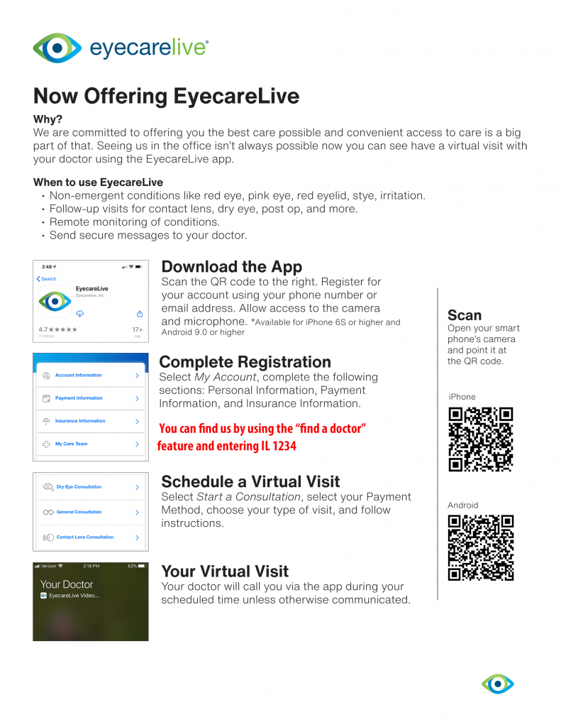 eyecarelive instructions